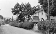 Penybontfawr, Station Road c1955