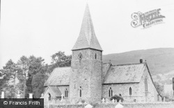 Penybontfawr, The Church c.1955