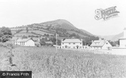 Penybontfawr, The Village c.1955