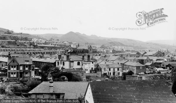 Photo of Penygraig, c.1955