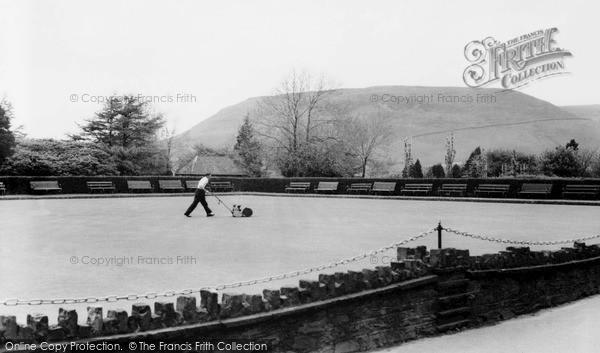 Penygraig, the Bowling Green c1955