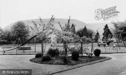 Penygraig, The Park, Children's Recreation Ground c.1955