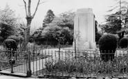 Penygraig, the Park, the Memorial c1955