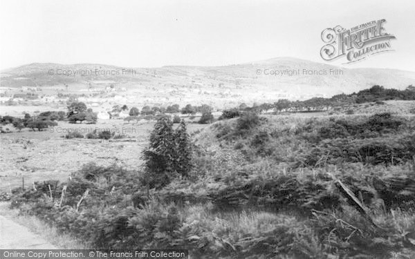 Photo of Penygroes, General View From Tal Y Sarn c.1965