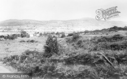 Penygroes, General View From Tal Y Sarn c.1965