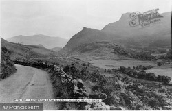 Penygroes, Snowdon From Nantlle Valley c.1965