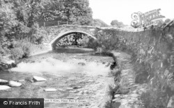 Penygroes, The Bridge, Pont Y Kim c.1965