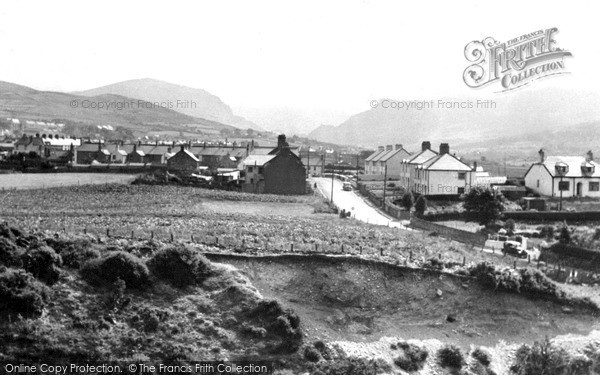 Photo of Penygroes, The Village And The Valley c.1955