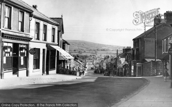 Photo of Penygroes, Water Street c.1955