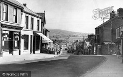 Penygroes, Water Street c.1955