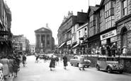 Penzance, Market Jew Street c1955