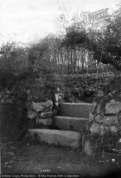 Penzance Old Stile Near Castle Horneck 1908 Francis Frith