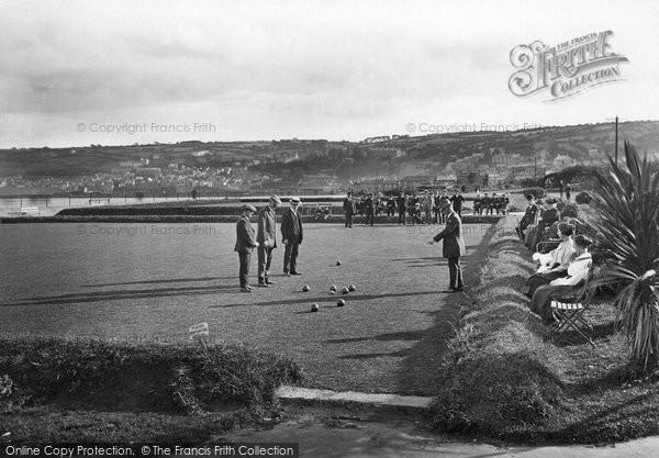 Penzance, The Bowling Green 1920