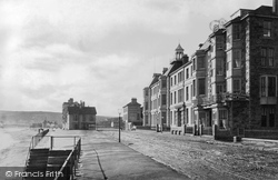 Penzance, The Esplanade c.1861