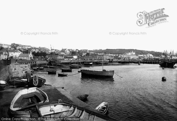 Photo of Penzance, the Harbour 1890, ref. 22978A