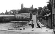 Penzance, the Harbour Steps c1960