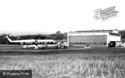 The Heliport c.1965, Penzance