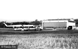 Penzance, the Heliport c1965