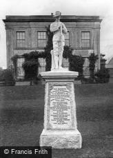 Penzance, the South African War Memorial 1906