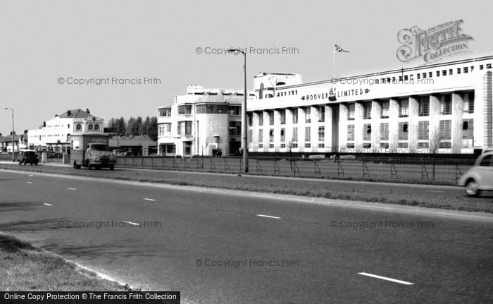 Perivale, Western Avenue, The Hoover Building c.1965