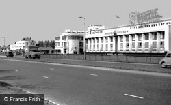 Perivale, Western Avenue, the Hoover Building c1965