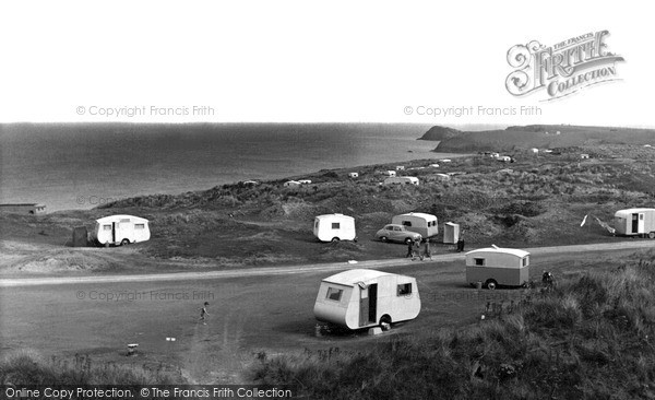 Perranporth, Perran Sands Holiday Camp c1960.  (Neg. P43068)  © Copyright The Francis Frith Collection 2008. http://www.francisfrith.com