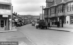 Perranporth, Post Office And Town c.1960