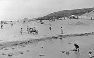 Perranporth, the Beach c1955