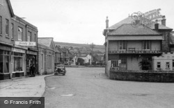Perranporth, Town From The Front c.1960