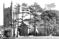 St Piran's Church c.1955, Perranzabuloe