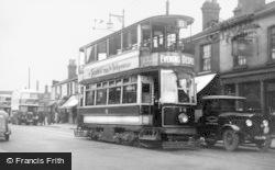 Birchfield Road Tram Terminus c.1935, Perry Barr