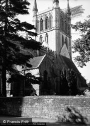 Pershore, Abbey c.1950