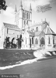 Pershore, Abbey c.1965