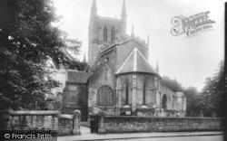 Pershore, Abbey Church 1924