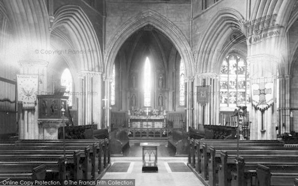 Photo of Pershore, Abbey, The Choir c.1955