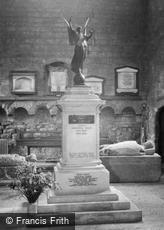 Pershore, Abbey, War Memorial c1950