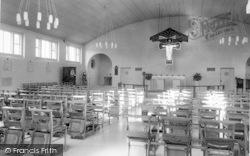 Pershore, Catholic Church Interior c.1965