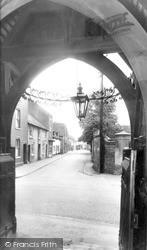 Pershore, Church Street c.1955