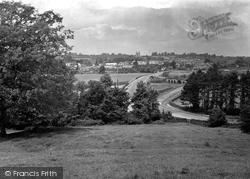 Pershore, From Avonbank 1931