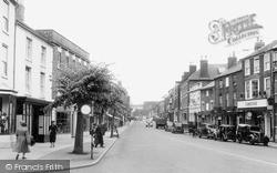 Pershore, High Street c.1950