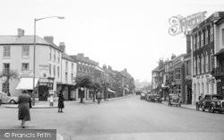 Pershore, High Street c.1955