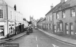Pershore, Priest Lane c.1965