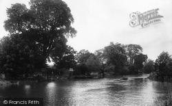 Pershore, River Avon 1931