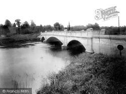 Pershore, River Avon And New Bridge 1931