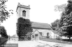 St Andrew's Church 1904, Pershore