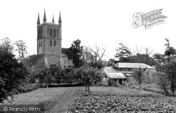 The Abbey c.1955, Pershore