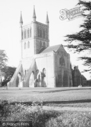 Pershore, The Abbey c.1960