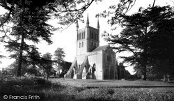 The Abbey c.1960, Pershore