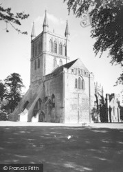 Pershore, The Abbey c.1965