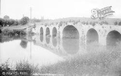 Pershore, The Bridge 1904